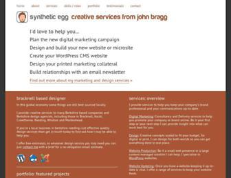 synegg.co.uk screenshot