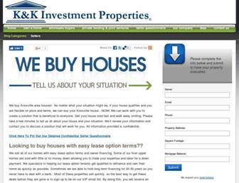 kandkproperties.com screenshot