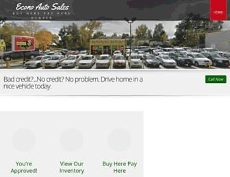 econoautosale.com screenshot