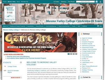 mvc.edu screenshot