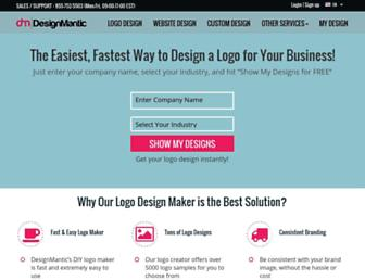 designmantic.com screenshot
