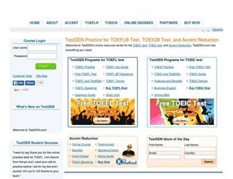 testden.com screenshot