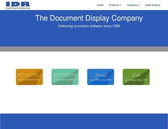 Thumbshot of Idrsolutions.com
