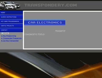 transpondery.com screenshot