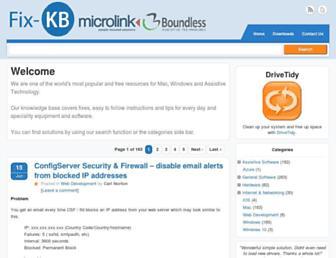 fixkb.com screenshot