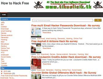 howtohacksfree.blogspot.com screenshot