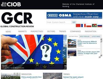 globalconstructionreview.com screenshot