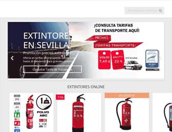 comprarextintoresbaratos.es screenshot