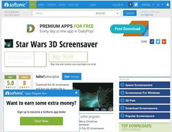 star-wars-3d-screensaver.en.softonic.com screenshot