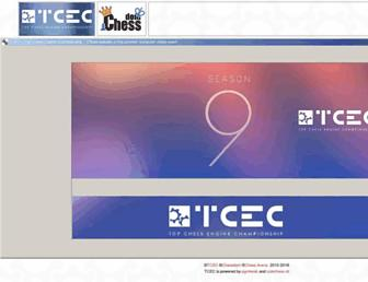 tcec.chessdom.com screenshot