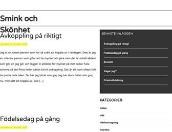 Main page screenshot of dnzup.se