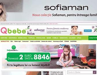 qbebe.ro screenshot
