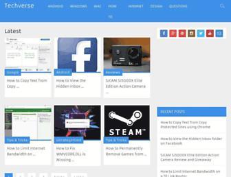 techverse.net screenshot