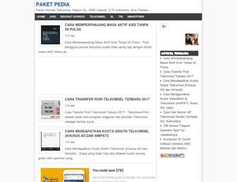 paketpedia.com screenshot