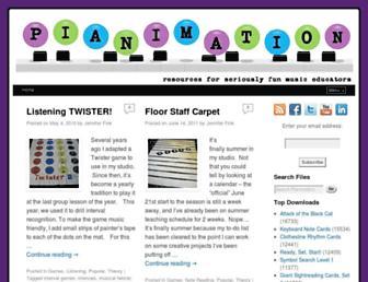 pianimation.com screenshot
