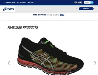 asics.com screenshot