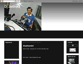 djjotinha.blogspot.com screenshot