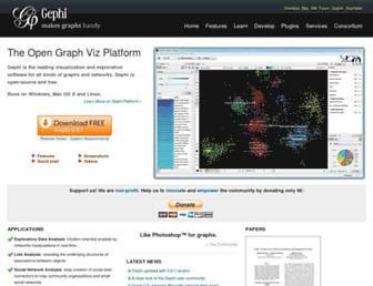 gephi.org screenshot