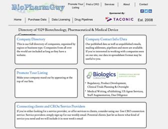 Thumbshot of Biopharmguy.com