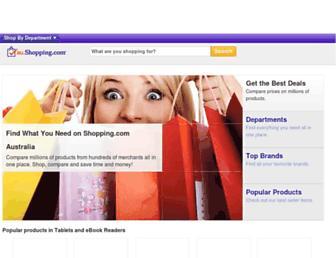 au.shopping.com screenshot