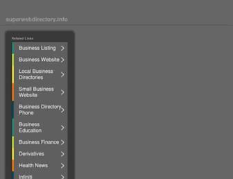 Thumbshot of Superwebdirectory.info