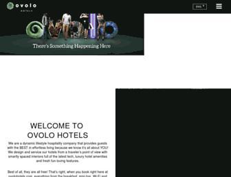 ovolohotels.com screenshot