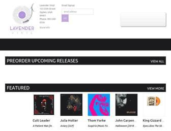 lavendervinyl.com screenshot