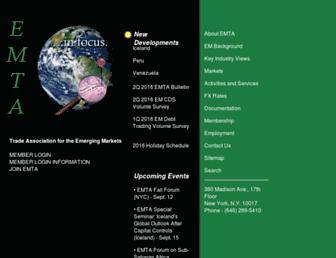 emta.org screenshot