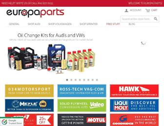 europaparts.com screenshot