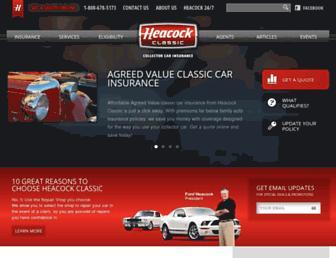 heacockclassic.com screenshot