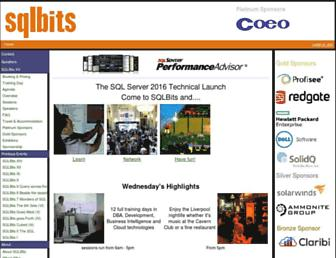 sqlbits.com screenshot