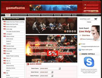 Thumbshot of Gamefootm.com