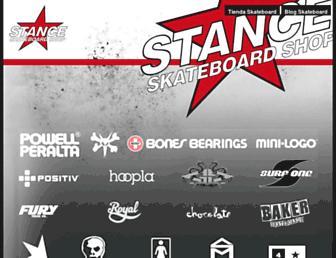 stanceshop.com screenshot