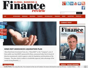Thumbshot of Globalbankingandfinance.com