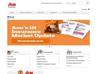 aon.com.au screenshot