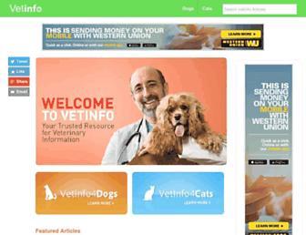 Thumbshot of Vetinfo.com
