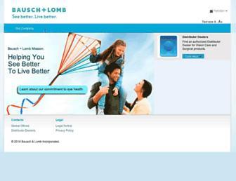 bausch.pk screenshot