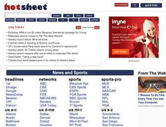 Thumbshot of Hotsheet.com
