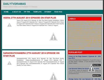 dailytvdramas.blogspot.in screenshot