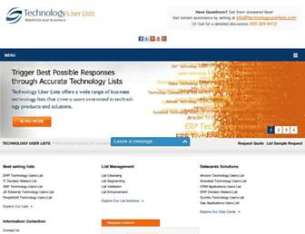 technologyuserlists.com screenshot