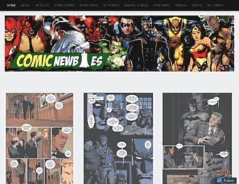 comicnewbies.com screenshot