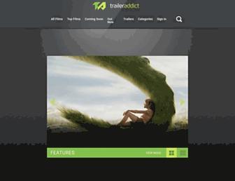 traileraddict.com screenshot