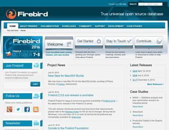 firebirdsql.org screenshot
