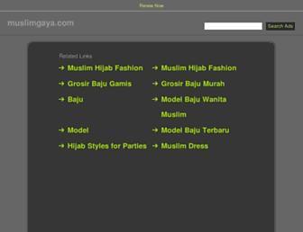 muslimgaya.com screenshot