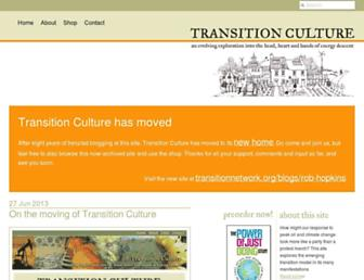 Thumbshot of Transitionculture.org