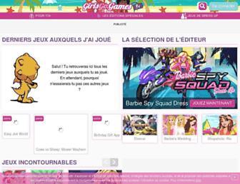 girlsgogames.fr screenshot