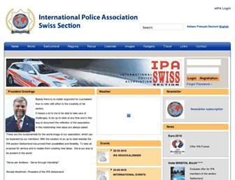 ipa.ch screenshot