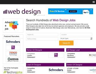 Main page screenshot of designforweb.co.uk