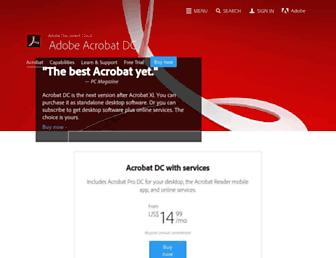 Thumbshot of Acrobat.com