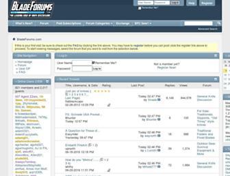 bladeforums.com screenshot